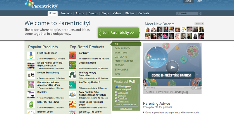 Free parenting reviews, social networking and more at parentricity