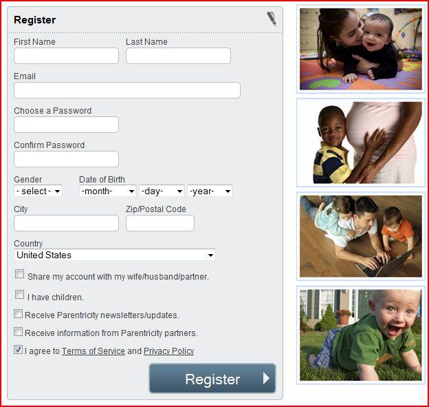 free parenting advice, free social parent network at Parentricity