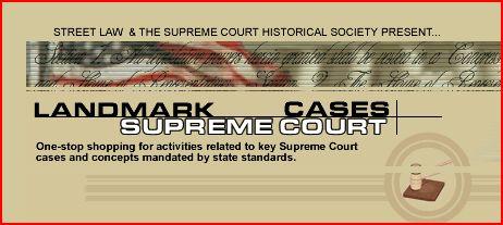 Free Landmark Supreme Court Cases Teacher Site