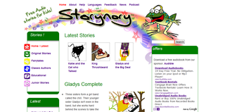 Storynory: audiobooks for children
