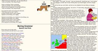 Free Humorous English Grammar Spelling