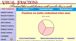math fractions visual fractions