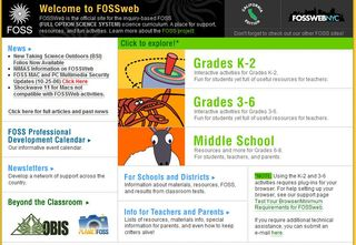 Free science curriculum resources modules for kindergarten, elementary, middle school