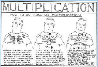 free math experiments through cartoons