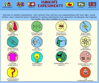 200 free math and science experiments through comics