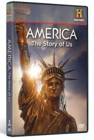 free DVD set from HISTORY with free shipping. America: The Story of US