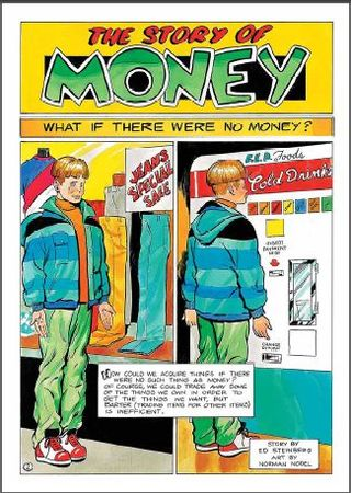 free comic book on finances, money, savings