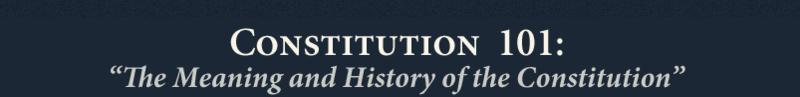 Constitution101
