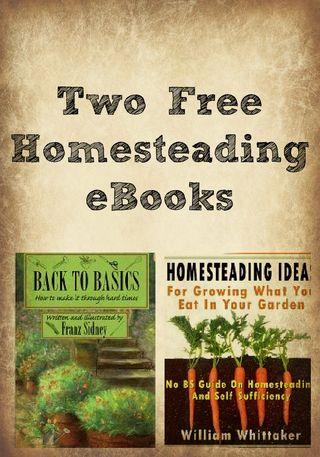 Homessteading ebooks collage