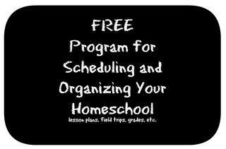 Schedule program for homeschools